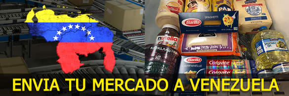 enviar a venezuela mercado comida paquetes viveres alimentos