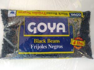 enviar frejoles negros goya a venezuela