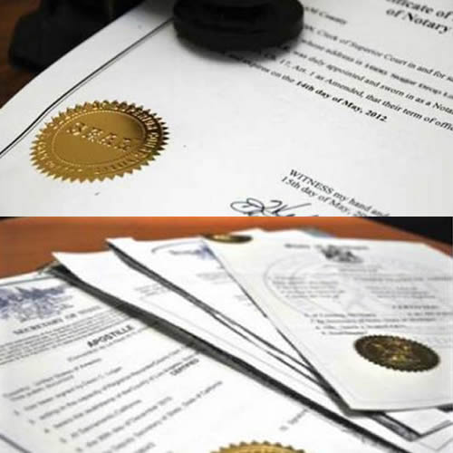 Notarizaciones y Apostillaje